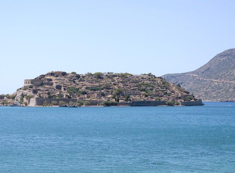 Výlet na ostrov Spinalonga, 1. část