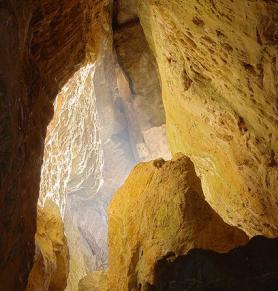 Nitro jeskyně Svatých otců