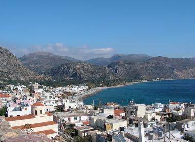 Krétská obec Paleochora