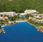 Krétský hotel Elounda Bay Palace u moře