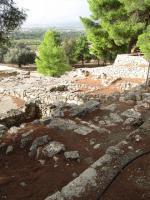 Pozůstatky minojského paláce Agia Triada