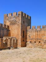 Část pevnosti Frangokastello